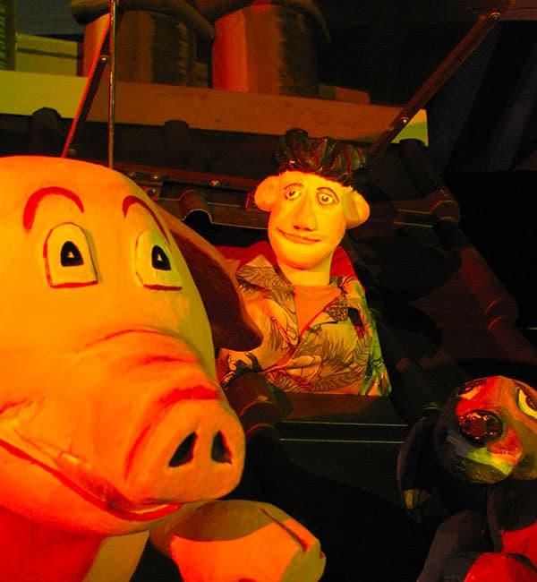 Marionnettes - Les cheminées