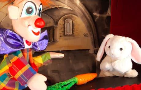 Marionnettes - La roulotte aux pantins